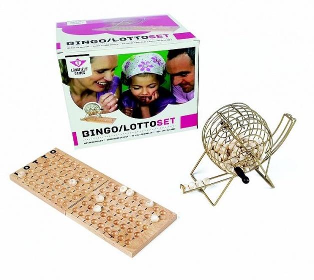 Lotto-bingomolen in doos