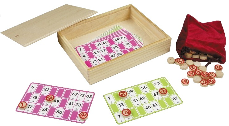 Longfield Games lotto/kienset 114 delig