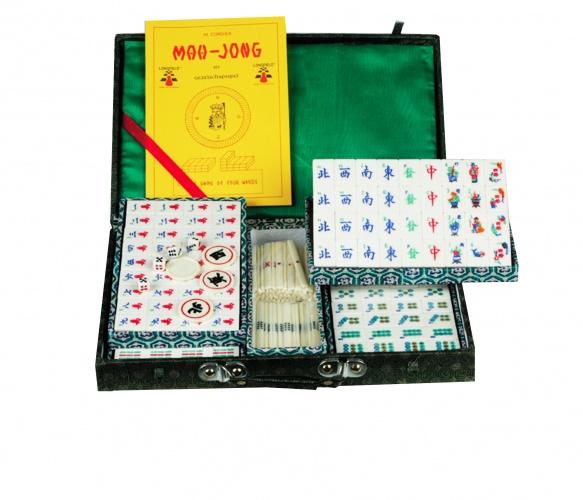 Longfield Games Mahjong Bamboe in Koffer