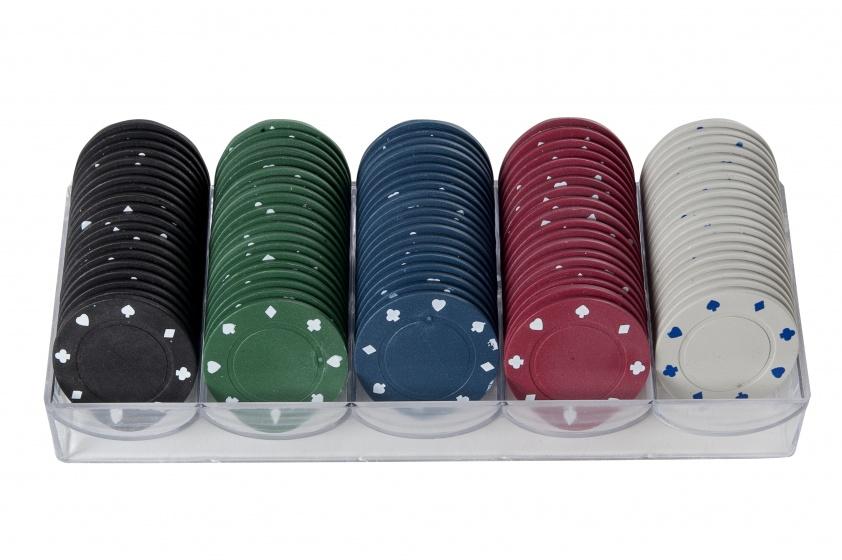 Longfield Games Pokerfiches 40 mm per 100 stuks