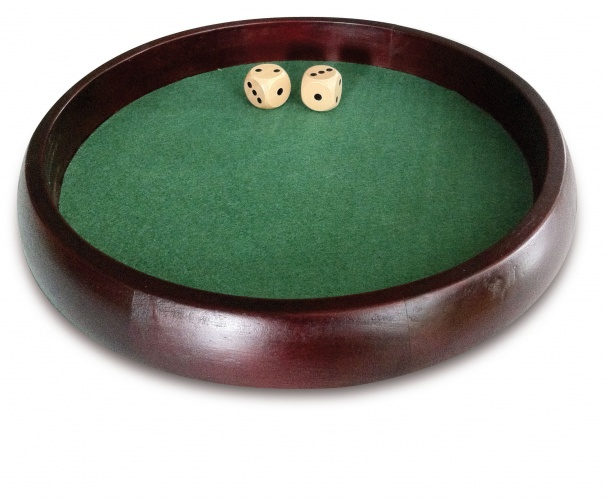 Longfield Games Pokerpiste Zwart Kunstleder