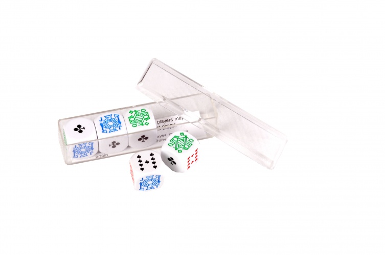 Longfield Games Pokerstenen 16mm 5 Stuks