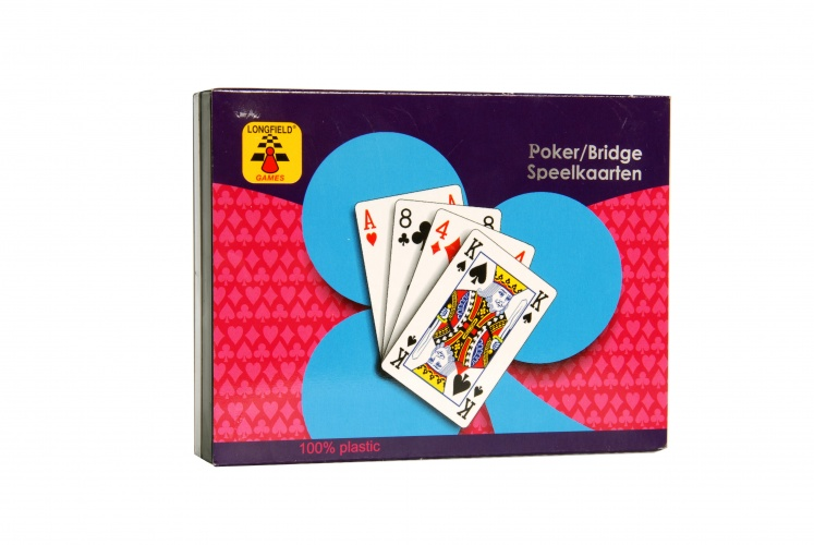 Longfield Games Speelkaarten Etui 100% Plastic