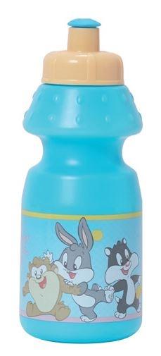 Looney Tunes Bidon kunststof 350 ml blauw