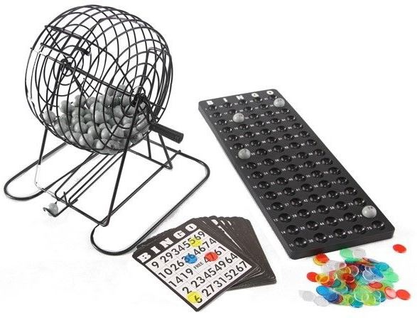 Lotto Bingospel met molen 22 cm