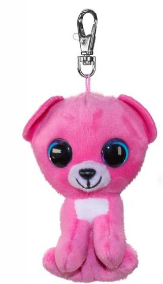Lumo Stars sleutelhanger Lumo Bear Raspberry roze 8,5 cm