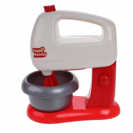 Luna speelgoed keukemachine junior rood-wit 16 cm