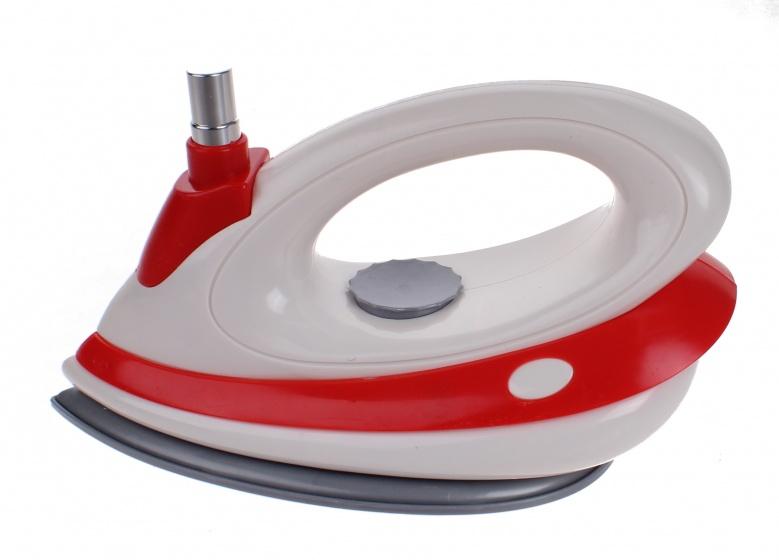 Luna speelgoed strijkijzer junior rood-wit 16 cm