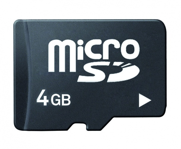M Wave Micro SD Kaart 4 GB