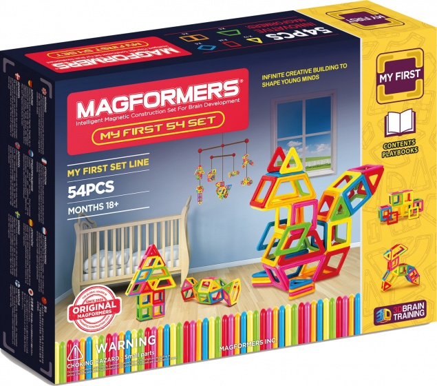 Magformers My First set 54 delig