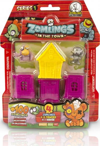 Magic Box Int. Zomlings House serie 1