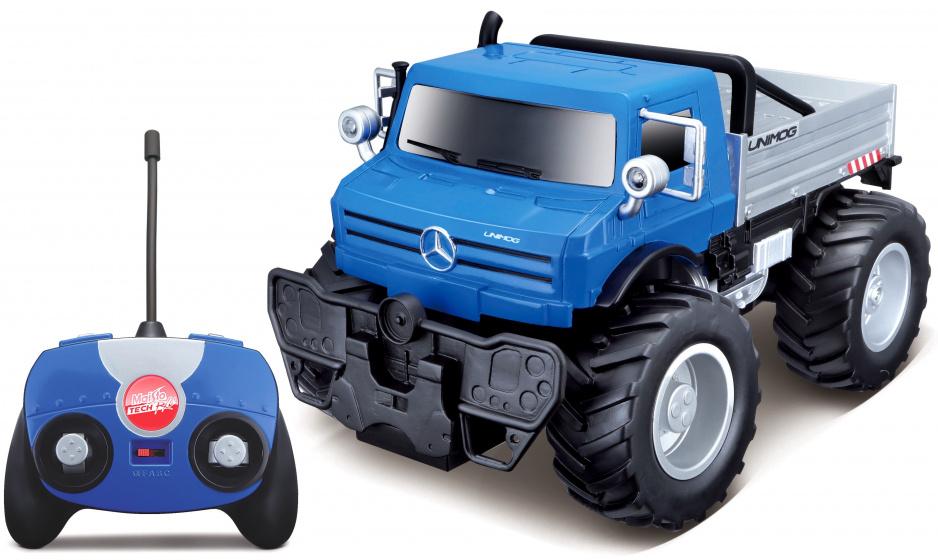 Maisto Mercedes Benz Unimog U5023 Civilian 1:16 blauw