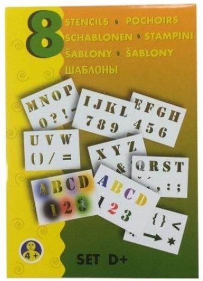 Malinos Blopens blaasstift sjablonen: Alfabet