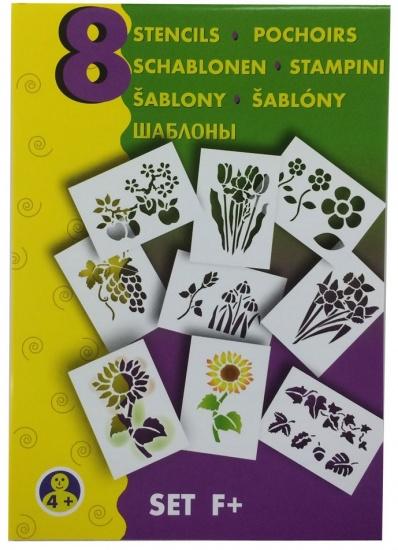 Malinos Blopens blaasstift sjablonen: Bloemen