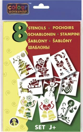 Malinos Blopens blaasstift sjablonen: Kerstmis