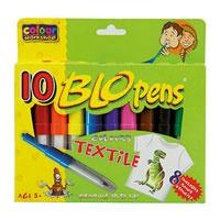 Malinos Blopens textiel 10 stuks