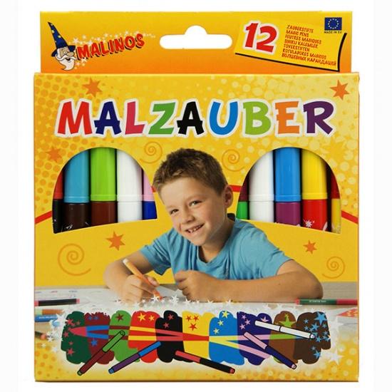 Malinos Toverstiften 12 stuks