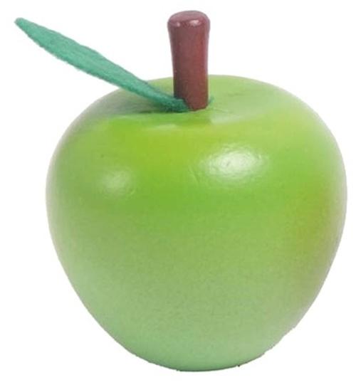 Mamamemo appel hout 6,5 cm groen