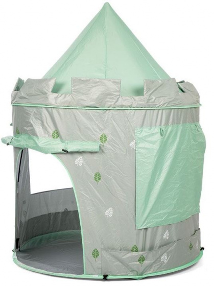 Mamamemo pop up speeltent Mint 140 cm polyester groen 2 delig