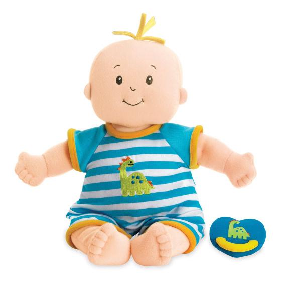 Manhattan Toy babypop Fella Doll jongens 38,1 cm textiel 4 delig