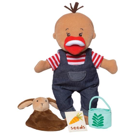 Manhattan Toy babypop Stella Farmer Set 30,5 cm textiel 6 delig