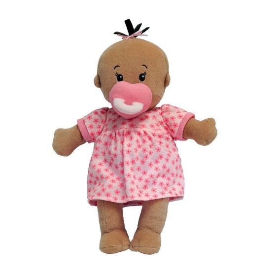 Manhattan Toy babypop Stella meisjes 30,5 cm textiel roze