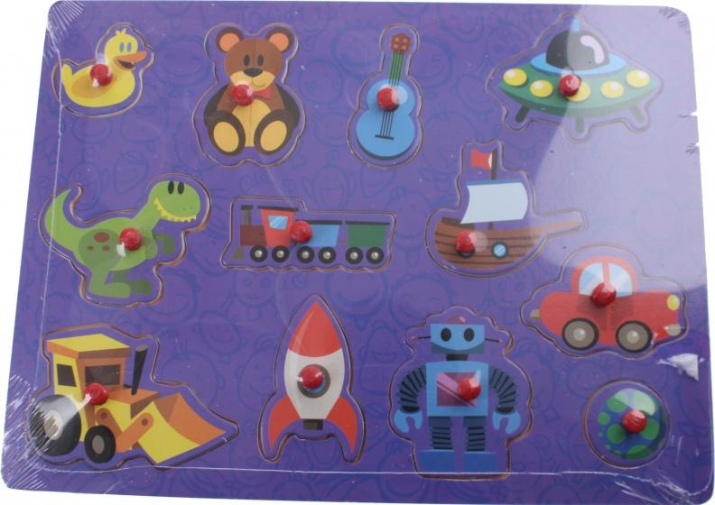 Marionette houten vormenpuzzel Toys 30 x 22 cm 12 stukjes