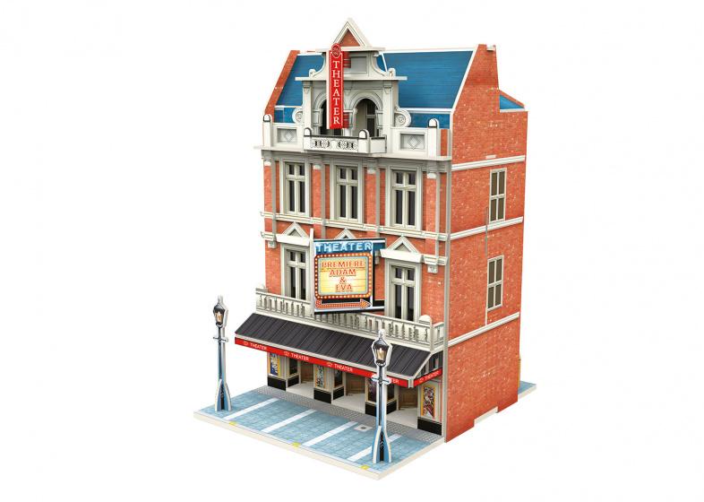 Marklin 3D puzzel Theater Start Up 12,5 x 16 cm 55 stukjes