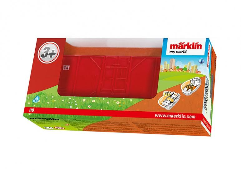 Marklin adapterwagen rood