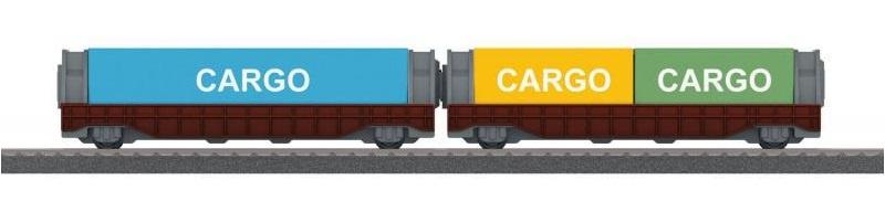 Marklin Containerwagons