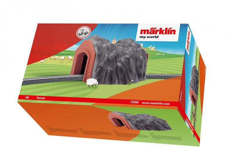 Marklin spoortunnel enkel spoor