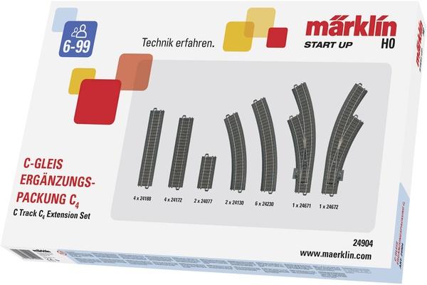 Märklin Start up rails 24904 H0 C4 (1 set)