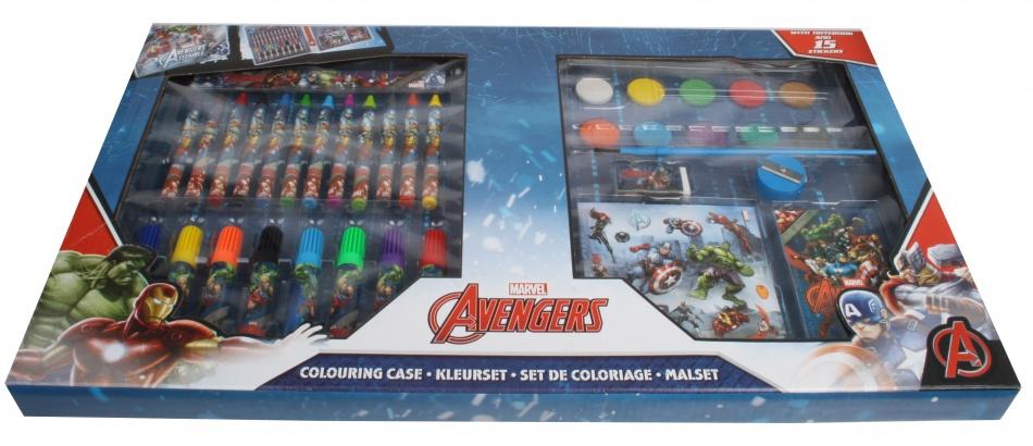Marvel Avengers Kleurset 50 delig