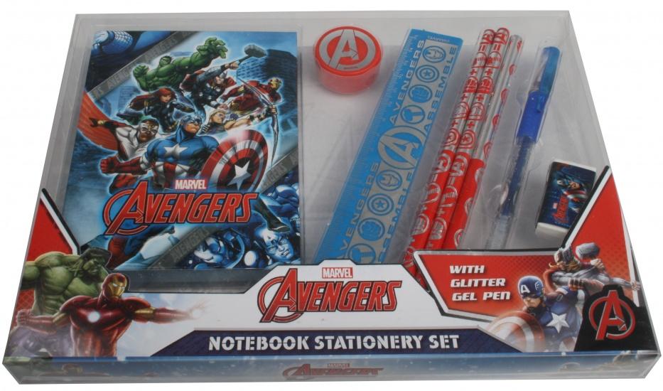 Marvel Avengers Schrijfset met notaboekje