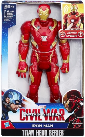 Marvel Action figure Avengers 30 cm electronic: Iron Man