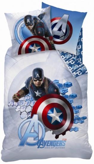 Marvel dekbedovertrek Avengers Captain America 140 x 200 cm