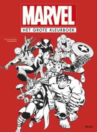 Deltas- Marvel Het grote kleurboek