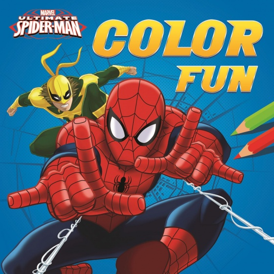 Marvel kleurboek Spider Man color fun