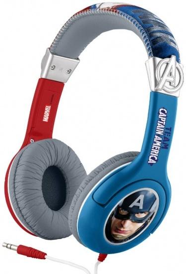 Marvel koptelefoon Captain America