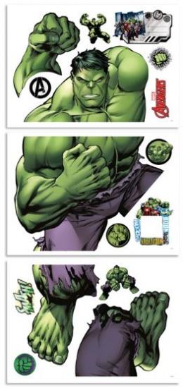 Marvel Muursticker Hulk 122 cm