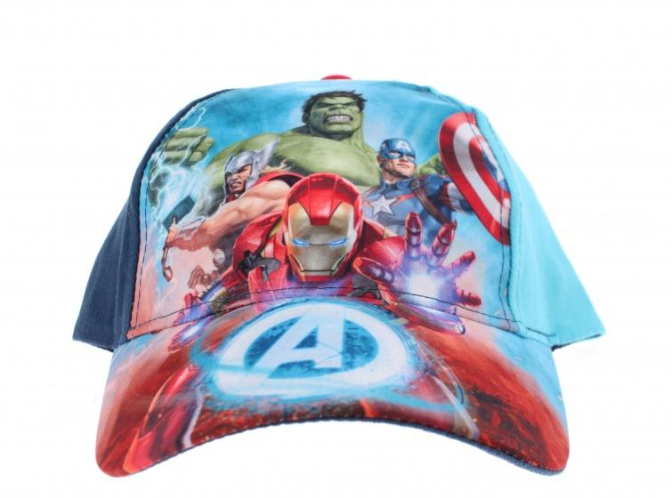Marvel pet Avengers blauw maat 52 54