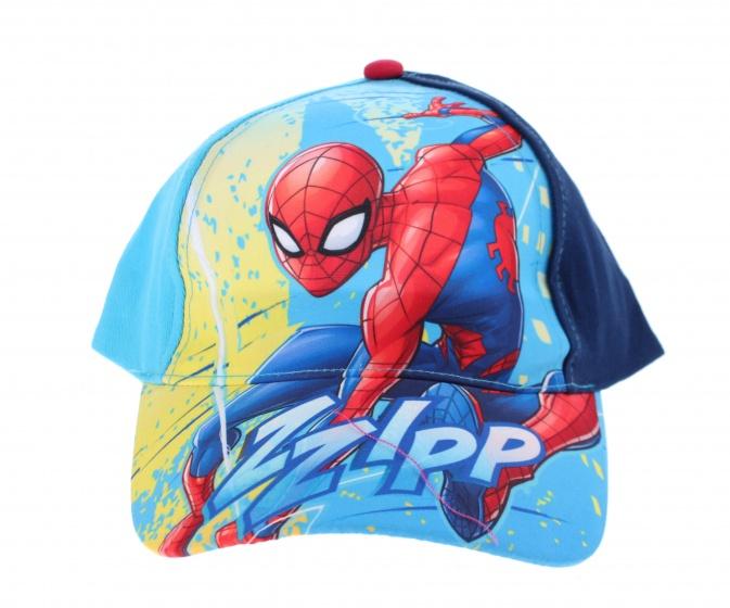Marvel pet Spider Man blauw maat 52 54