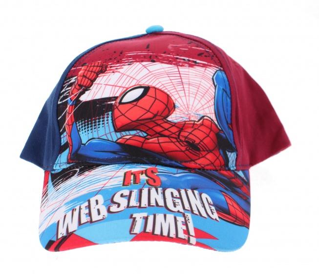 Marvel pet Spider Man rood maat 52 54