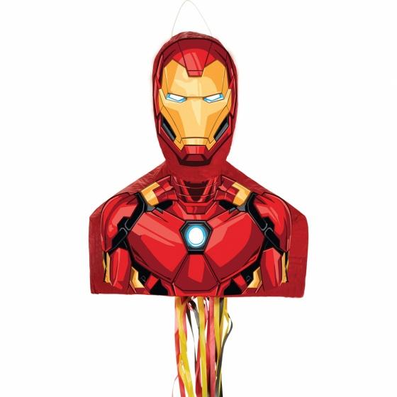 Marvel pi�ata Iron Man 52 cm jongens rood/geel