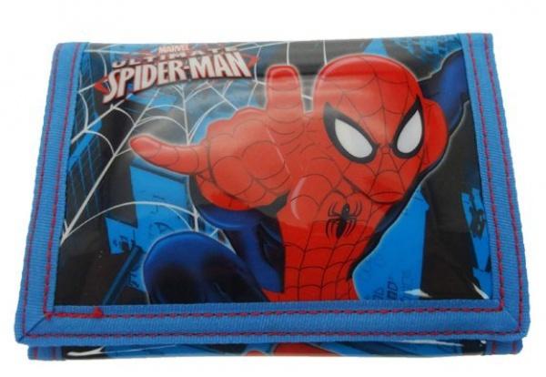 Marvel Portemonnee Spider Man 25 x 13 cm blauw