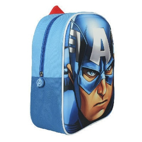 Marvel Rugzak Captain America 3D 21 x 10 x 31 cm