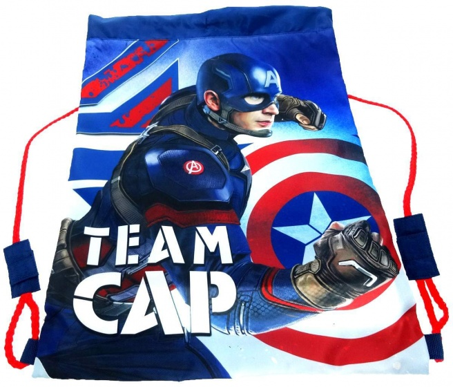 Marvel Schoudertas Captain America 42 x 31 cm blauw