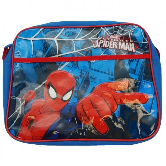 Marvel Schoudertas Spiderman 24 x 28 x 9 cm blauw