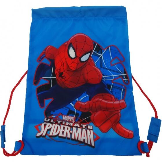 Marvel Schoudertas Spider Man 42 x 31 cm blauw