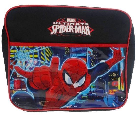 Marvel Schoudertas Spiderman Zwart 32 x 10 x 36 cm